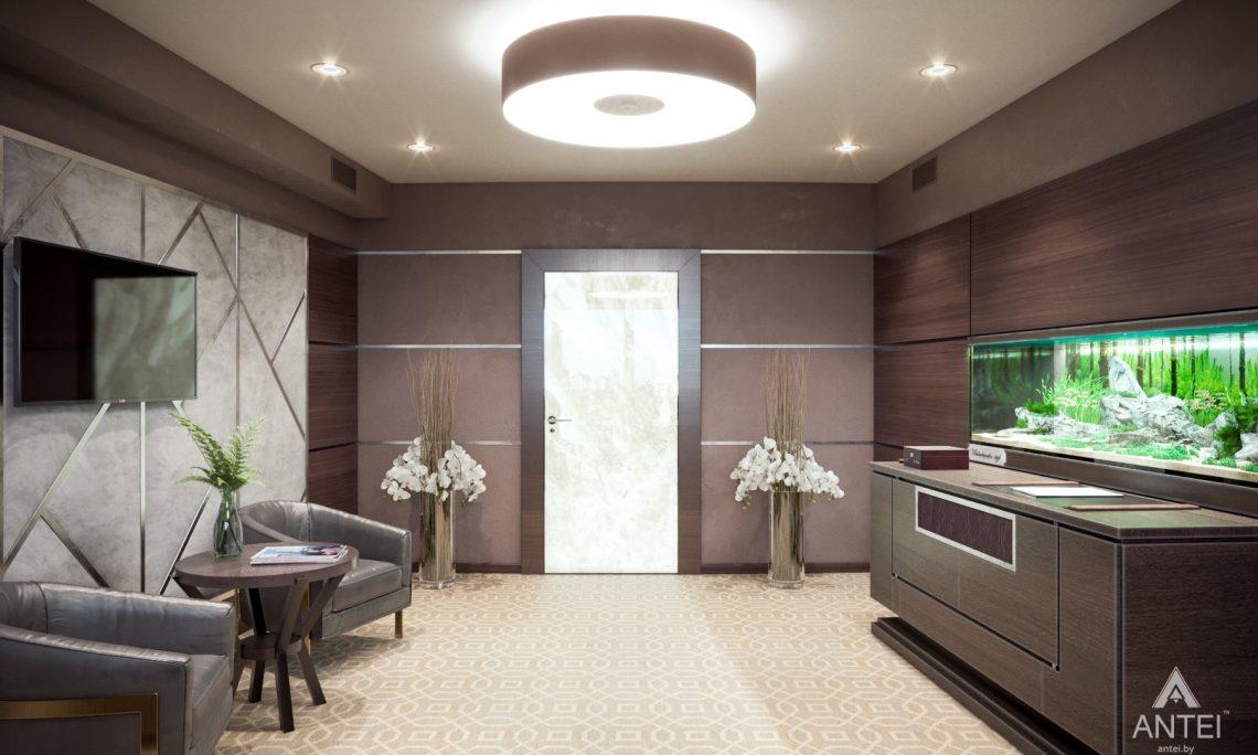 Дизайн интерьера офиса финансовой компании в Москве - кабинет фото №4