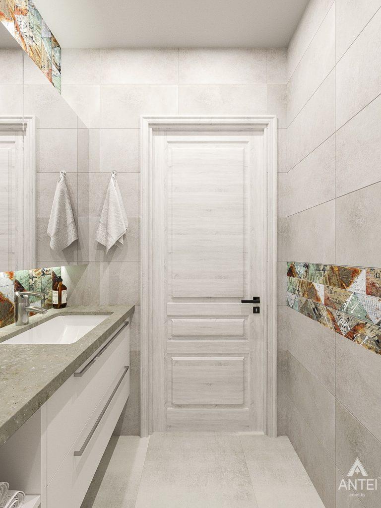 Дизайн интерьера трехкомнатная квартира в Гомеле , ул. Волотовская - санузел фото №5
