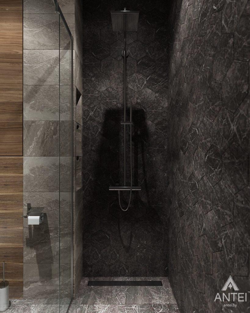 Дизайн интерьера дома в п. Большевик -санузел фото №4
