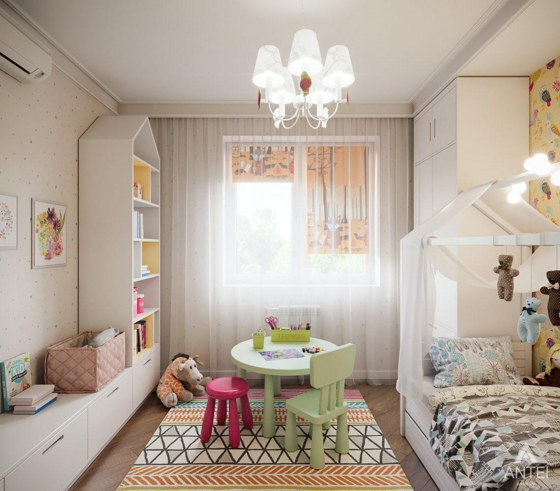 Дизайн интерьера трехкомнатная квартира в Гомеле, ул. Денисенко - детская комната фото №1
