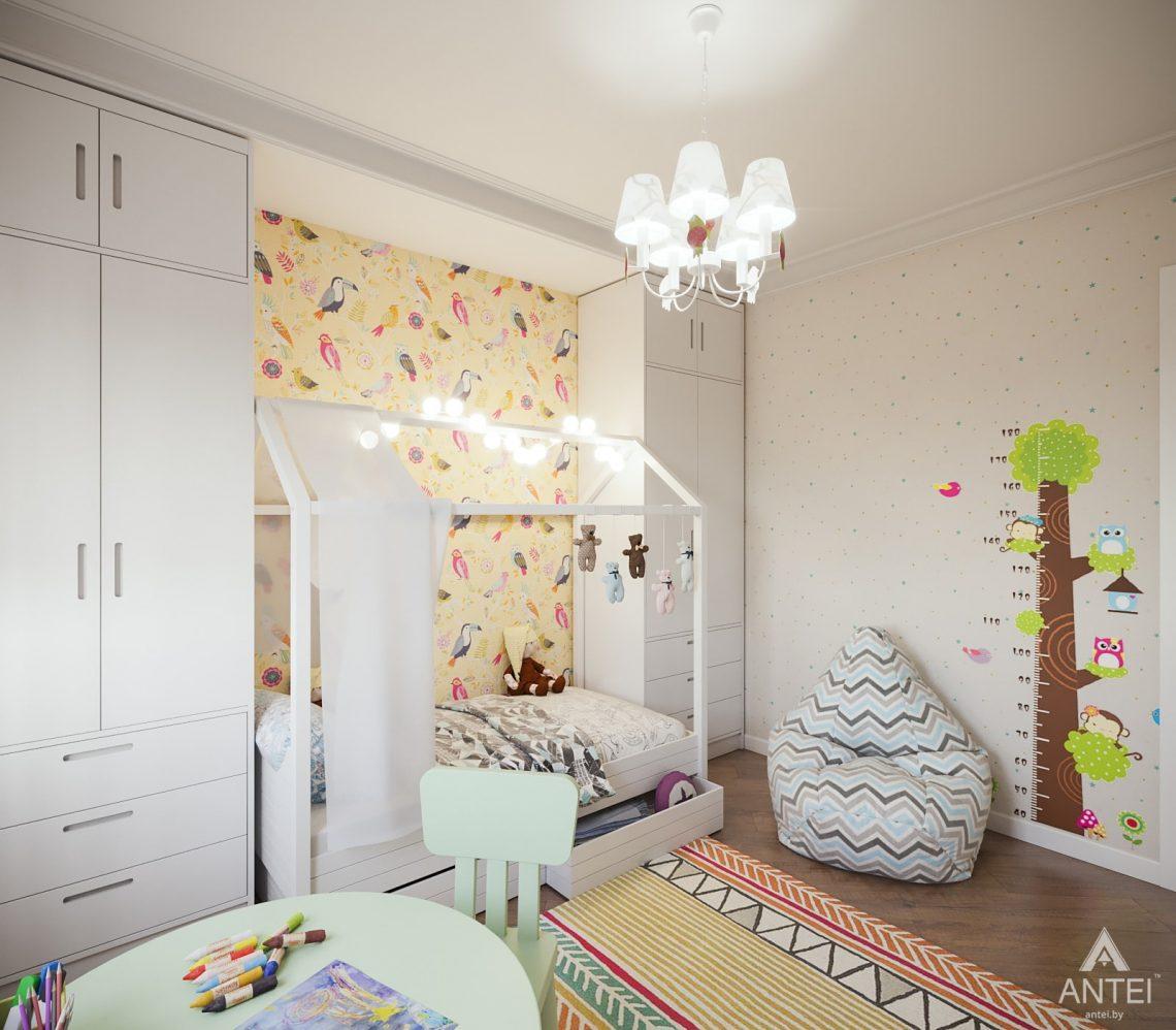 Дизайн интерьера трехкомнатная квартира в Гомеле, ул. Денисенко - детская комната фото №3