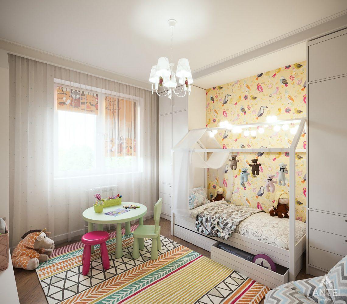 Дизайн интерьера трехкомнатная квартира в Гомеле, ул. Денисенко - детская комната фото №2