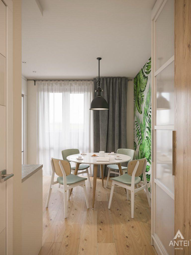 Дизайн интерьера трехкомнатная квартира в Гомеле, ул. Денисенко - кухня фото №2