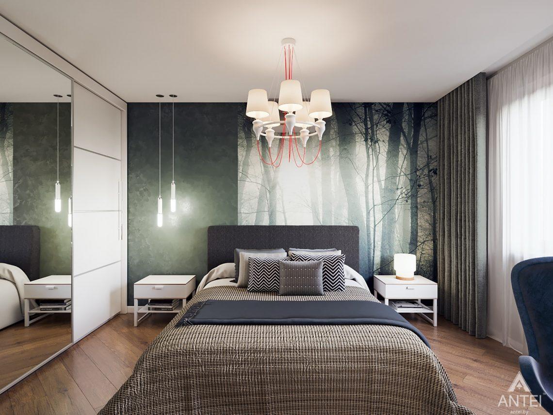 Дизайн интерьера трехкомнатная квартира в Гомеле, ул. Денисенко - спальня фото №1