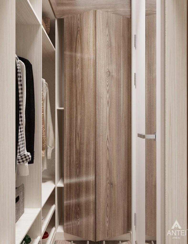 Дизайн интерьера квартиры студии в Москве - фото №2Дизайн интерьера квартиры студии в Москве - гардеробная фото №1