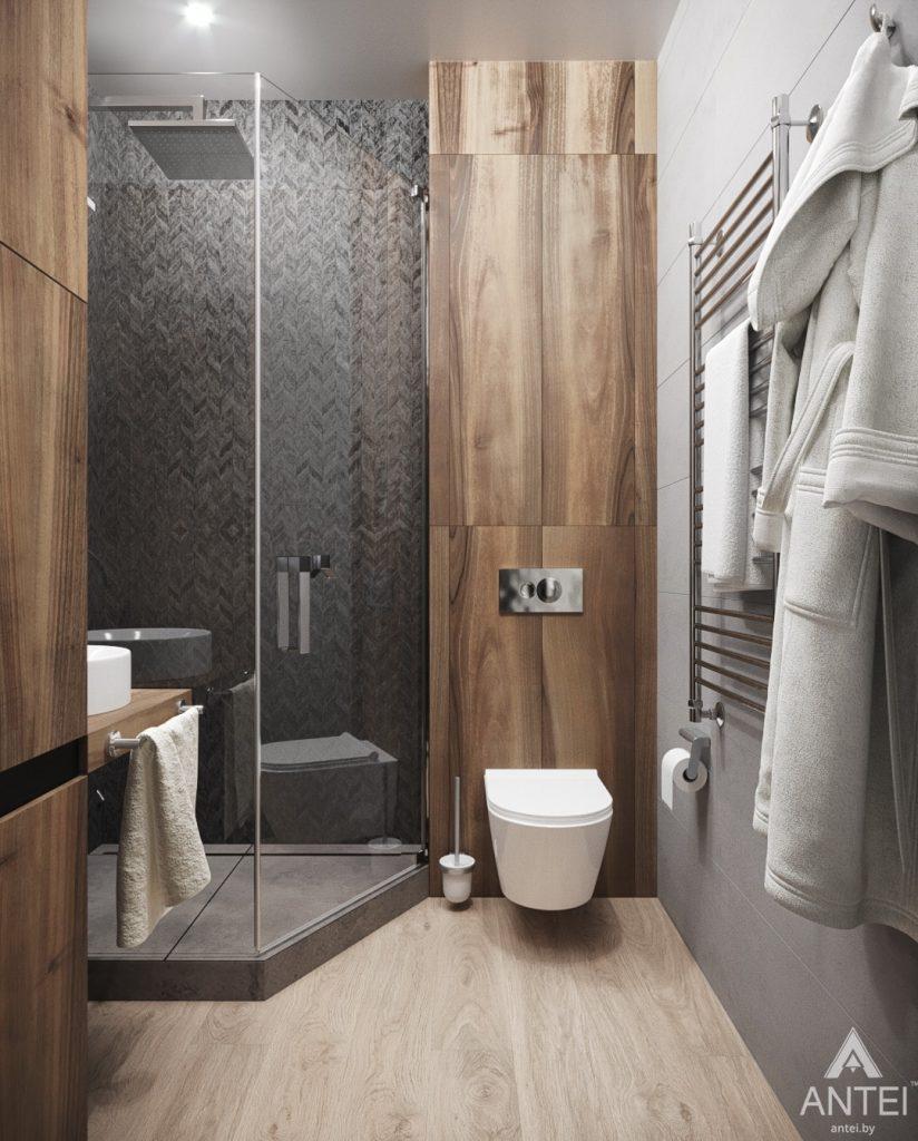 Дизайн интерьера квартиры студии в Москве - фото №2Дизайн интерьера квартиры студии в Москве - санузел фото №4