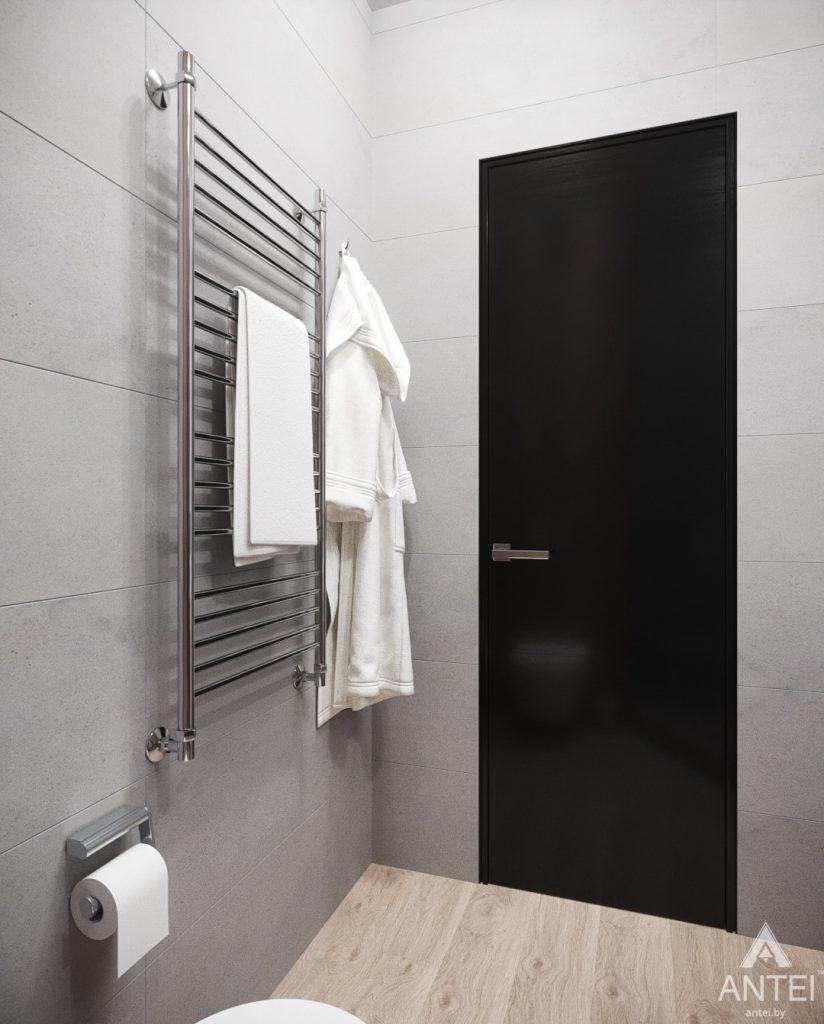 Дизайн интерьера квартиры студии в Москве - фото №2Дизайн интерьера квартиры студии в Москве - санузел фото №2