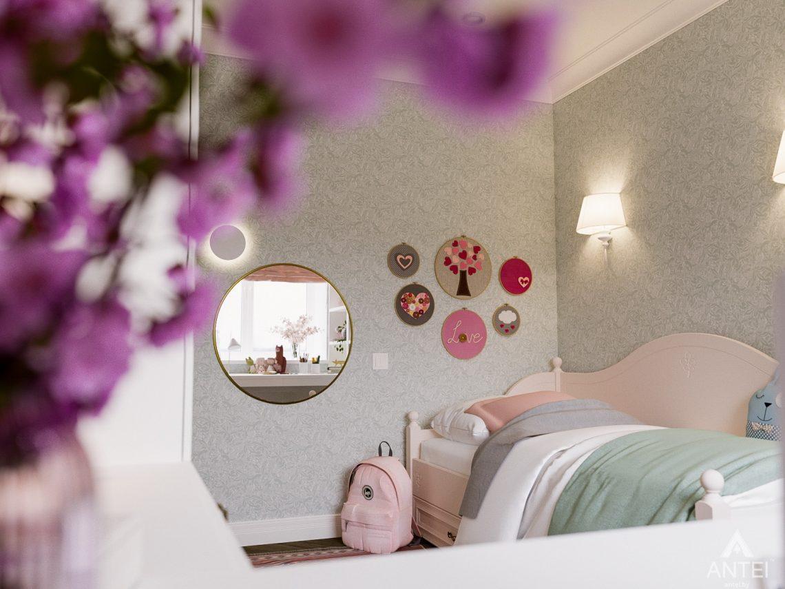 Дизайн интерьера трехкомнатная квартира в Светлогорске - детская комната фото №3