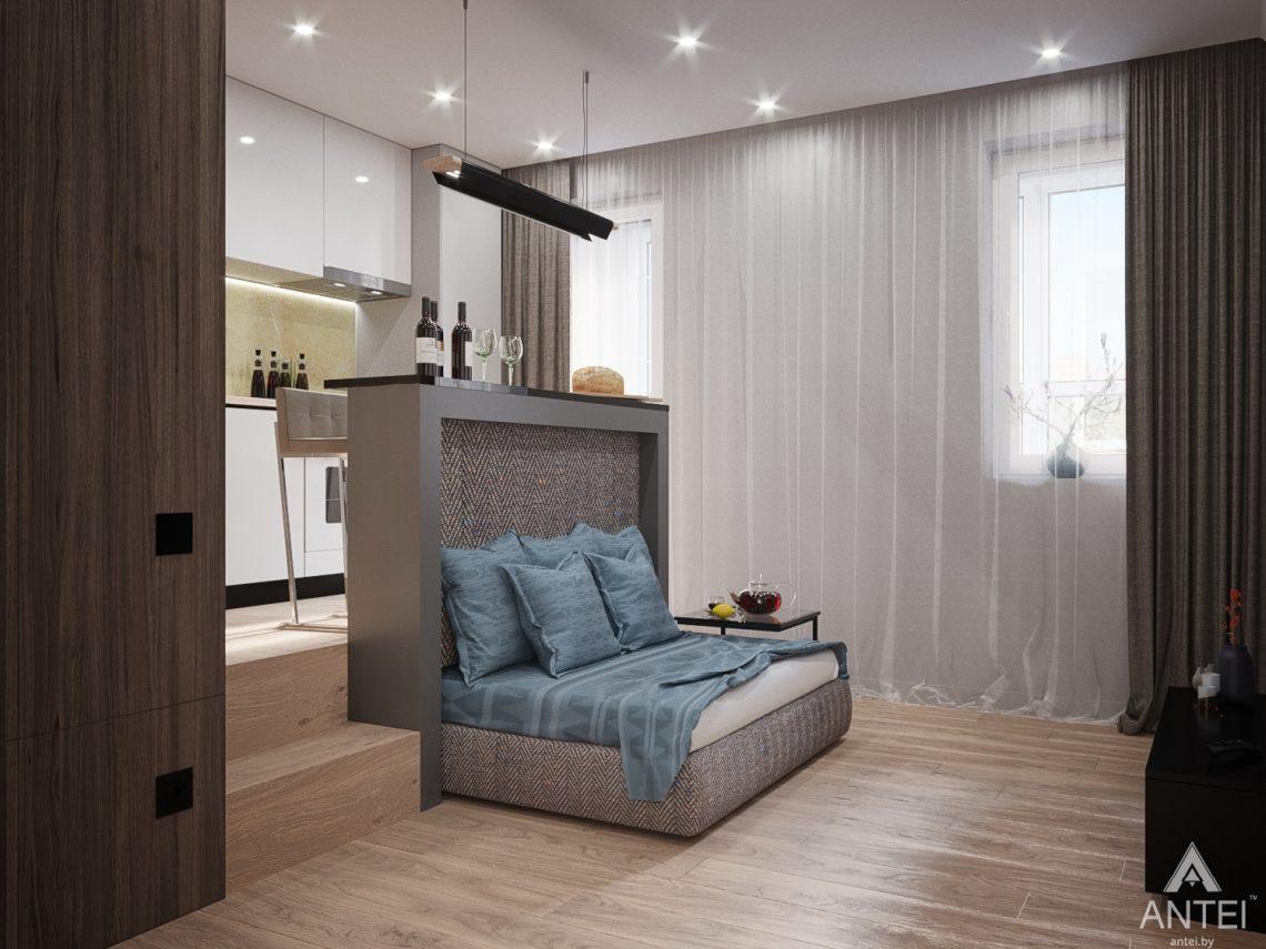 Дизайн интерьера квартиры студии в Москве - фото №2Дизайн интерьера квартиры студии в Москве - фото №14