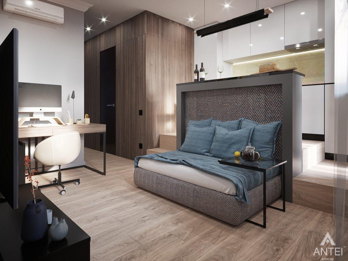 Дизайн интерьера квартиры студии в Москве - фото №2Дизайн интерьера квартиры студии в Москве - фото №6
