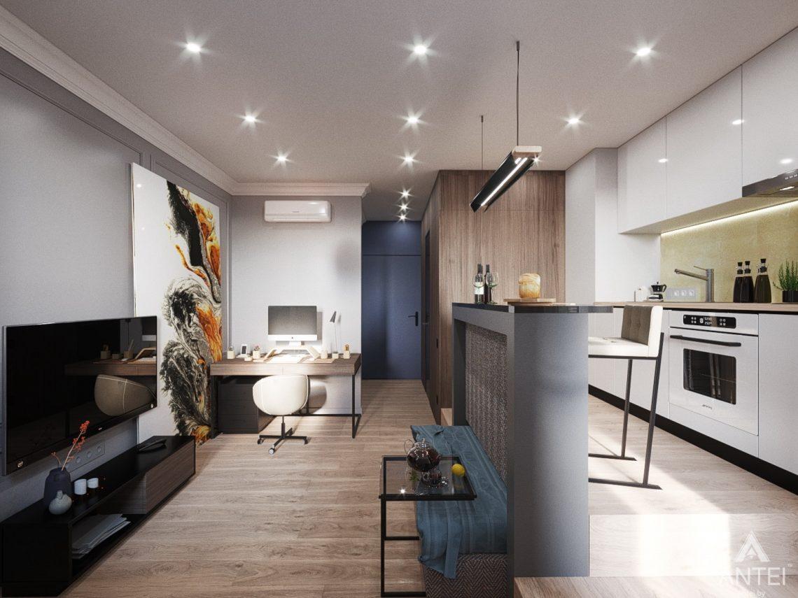 Дизайн интерьера квартиры студии в Москве - фото №2Дизайн интерьера квартиры студии в Москве - фото №4