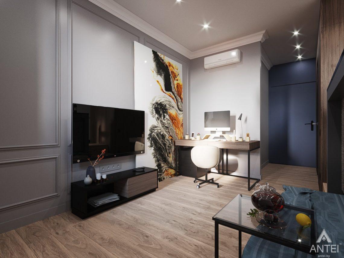 Дизайн интерьера квартиры студии в Москве - фото №2Дизайн интерьера квартиры студии в Москве - фото №9