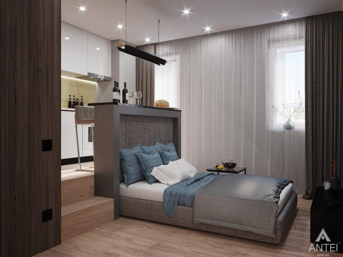 Дизайн интерьера квартиры студии в Москве - фото №2Дизайн интерьера квартиры студии в Москве - фото №13