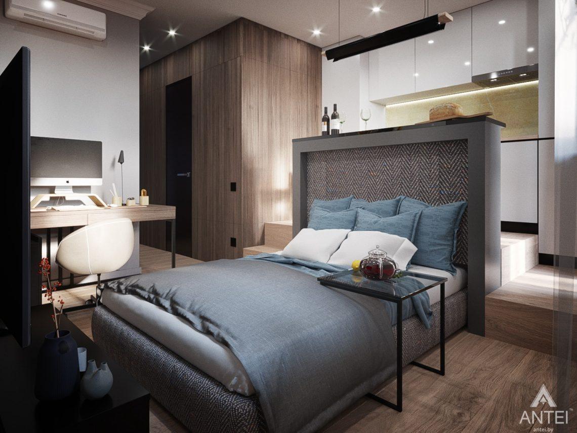 Дизайн интерьера квартиры студии в Москве - фото №2Дизайн интерьера квартиры студии в Москве - фото №7