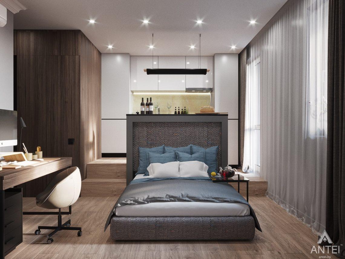 Дизайн интерьера квартиры студии в Москве - фото №2Дизайн интерьера квартиры студии в Москве - фото №3