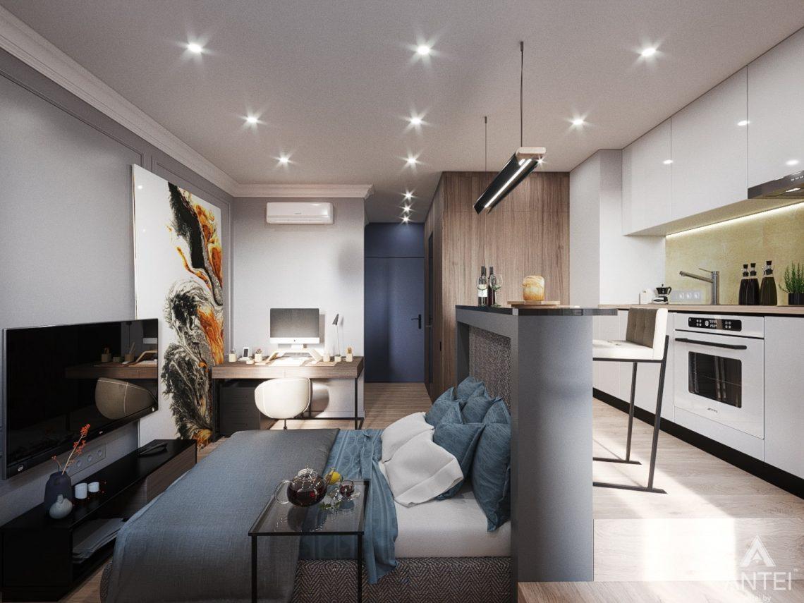 Дизайн интерьера квартиры студии в Москве - фото №2Дизайн интерьера квартиры студии в Москве - фото №12