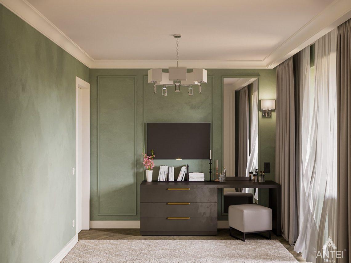 Дизайн интерьера трехкомнатная квартира в Светлогорске - спальня фото №4
