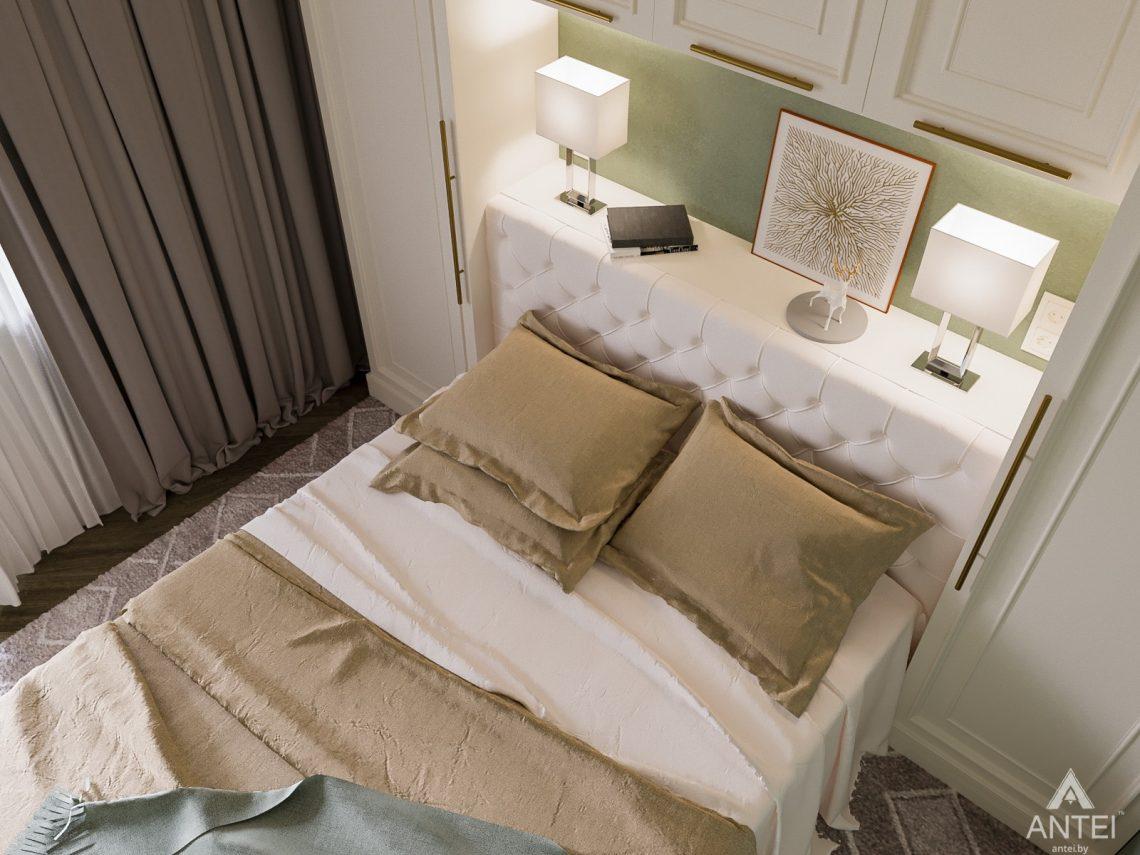 Дизайн интерьера трехкомнатная квартира в Светлогорске - спальня фото №2