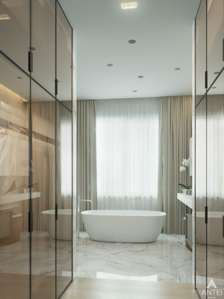 Дизайн интерьера двухэтажного дома в Гомеле - санузел фото №7