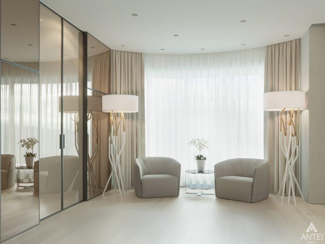 Дизайн интерьера двухэтажного дома в Гомеле - спальня фото №4