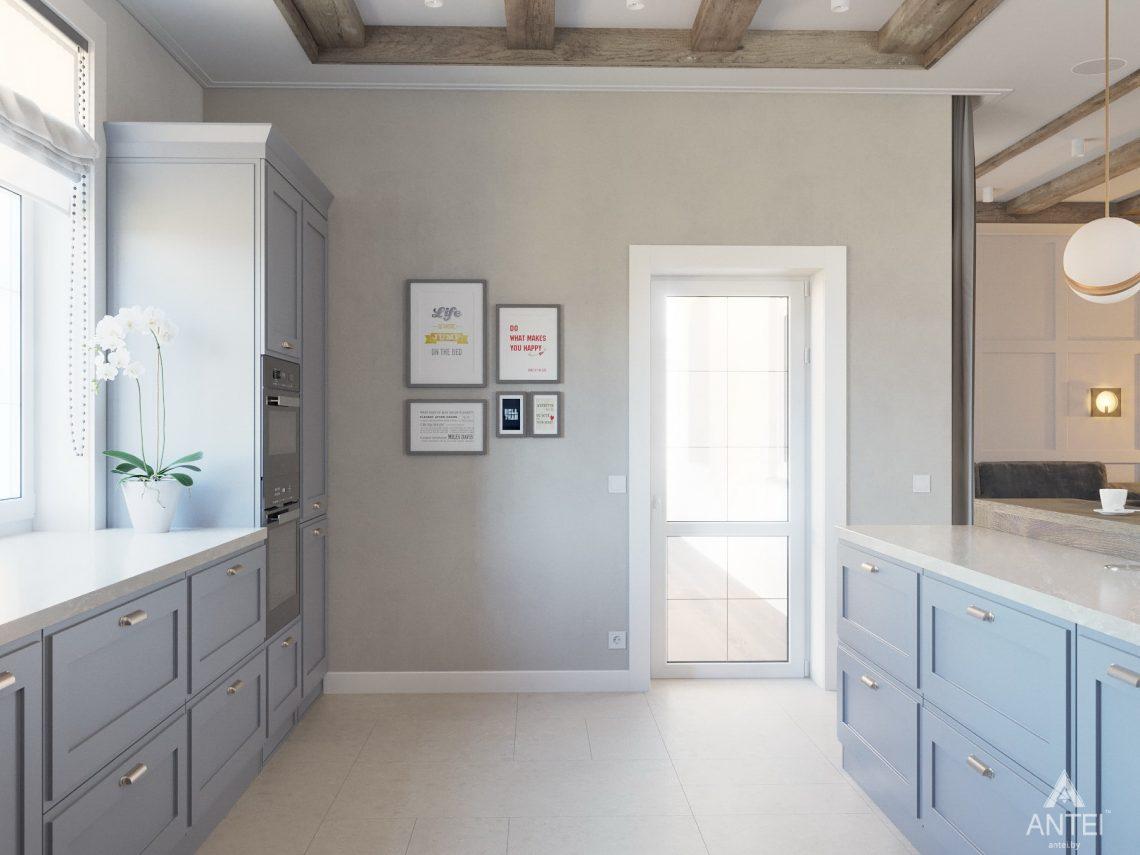 Дизайн интерьера одноэтажного дома в Гомеле - кухня фото №4