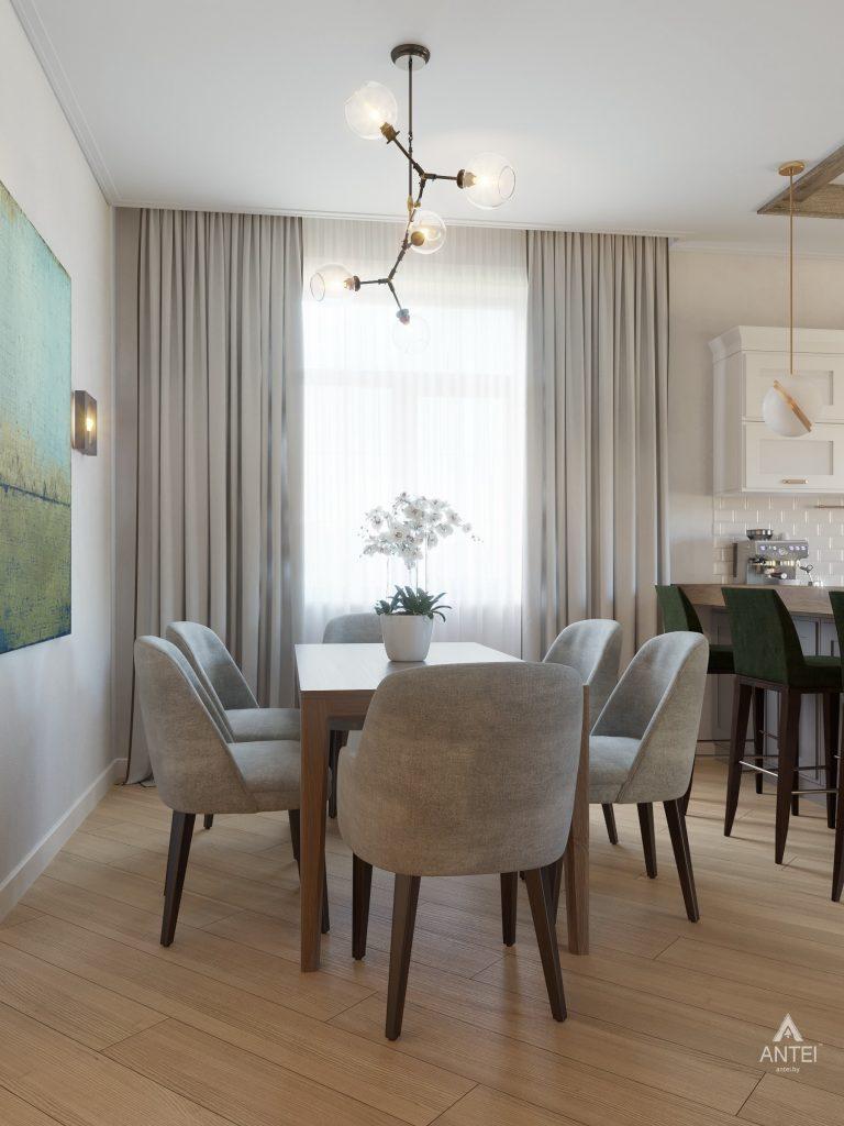 Дизайн интерьера одноэтажного дома в Гомеле - кухня фото №5