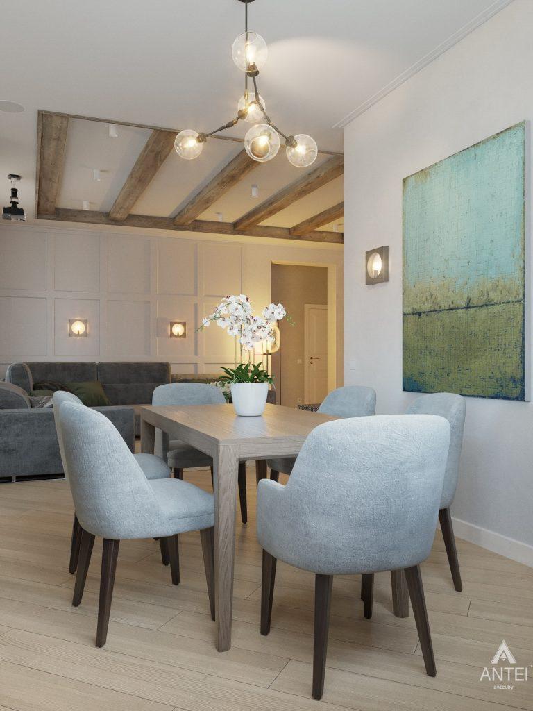 Дизайн интерьера одноэтажного дома в Гомеле - кухня фото №6