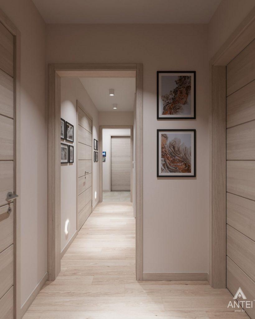 Дизайн интерьера трехкомнатная квартира в Гомеле, ул. Барыкина - коридор фото №1