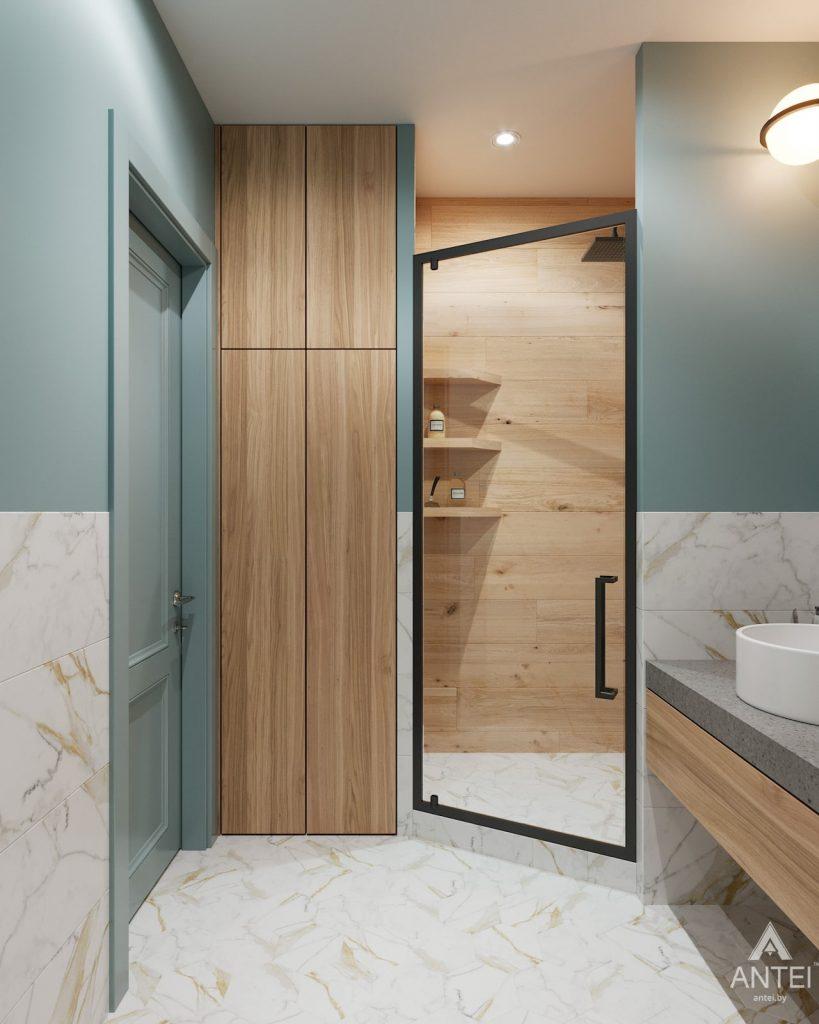 Дизайн интерьера двухкомнатная квартира в Минске, пр-т Дзержинского - санузел фото №2