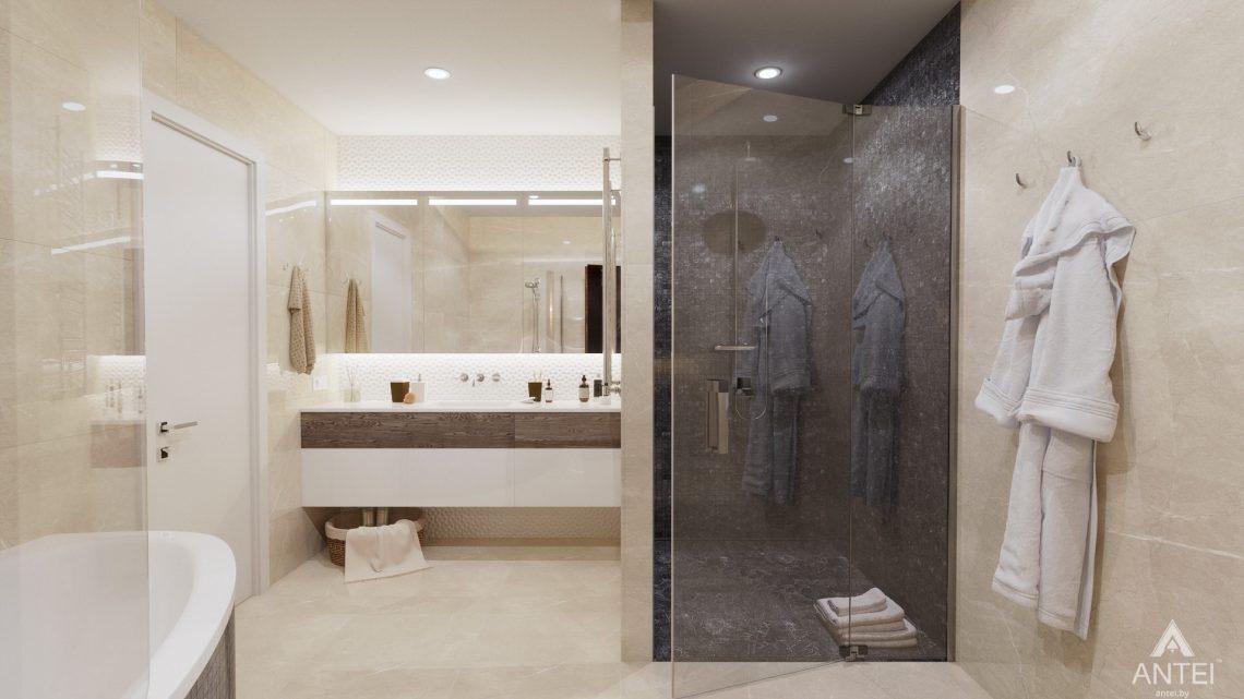 Дизайн интерьера дома со вторым светом в Гомеле - санузел фото №1