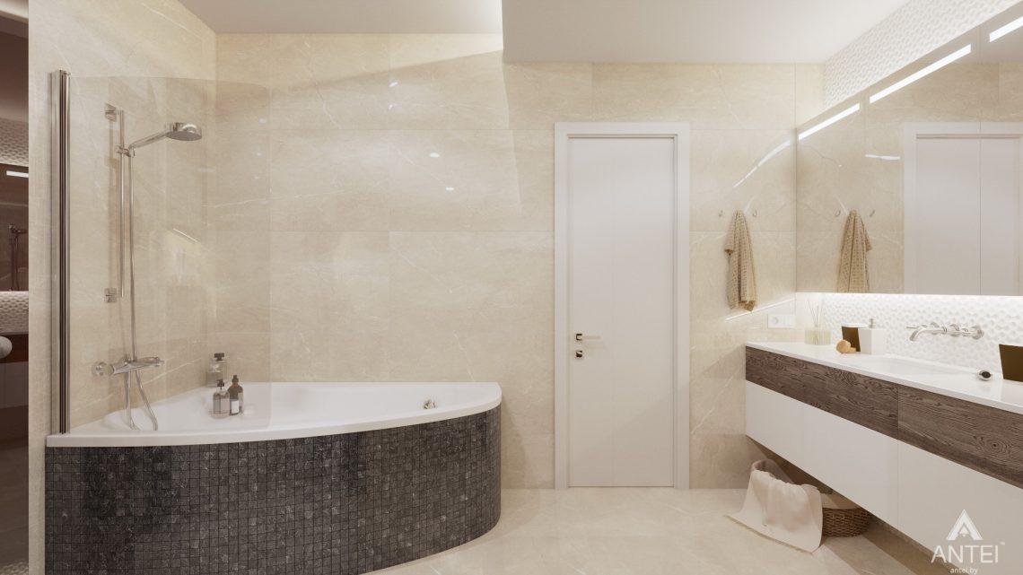 Дизайн интерьера дома со вторым светом в Гомеле - санузел фото №4