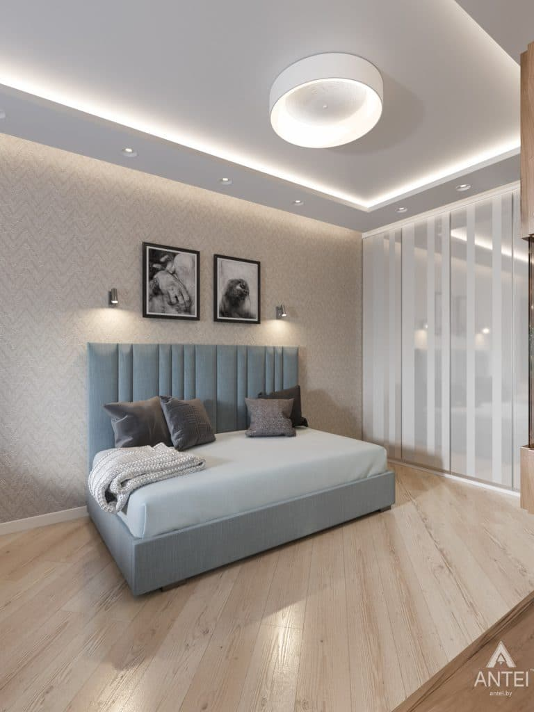 Дизайн интерьера трехкомнатной квартиры в Гомеле, ул. Карла Маркса - детская комната фото №2