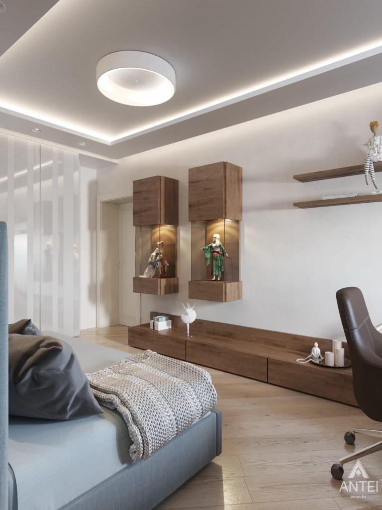 Дизайн интерьера трехкомнатной квартиры в Гомеле, ул. Карла Маркса - детская комната фото №3