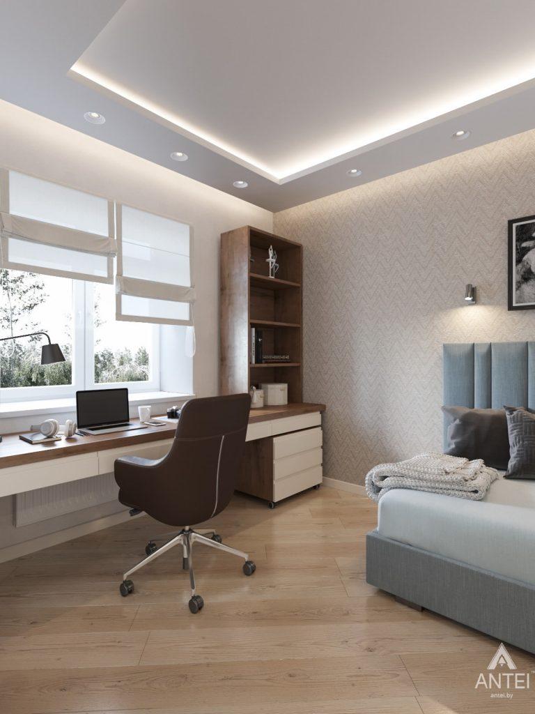 Дизайн интерьера трехкомнатной квартиры в Гомеле, ул. Карла Маркса - детская комната фото №4