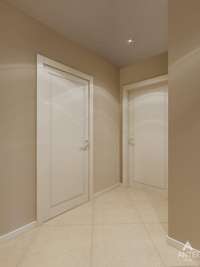 Дизайн интерьера трехкомнатной квартиры в Гомеле, ул. Карла Маркса - коридор фото №2