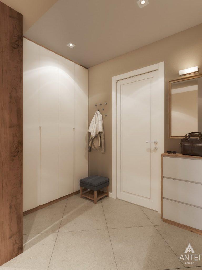 Дизайн интерьера трехкомнатной квартиры в Гомеле, ул. Карла Маркса - прихожая фото №1