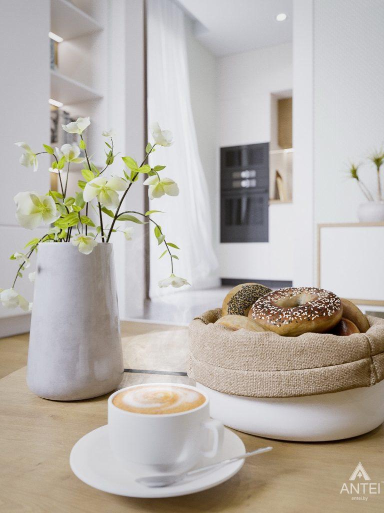 Дизайн интерьера однокомнатной квартиры в Гомеле, ул. Мазурова - гостиная фото №5