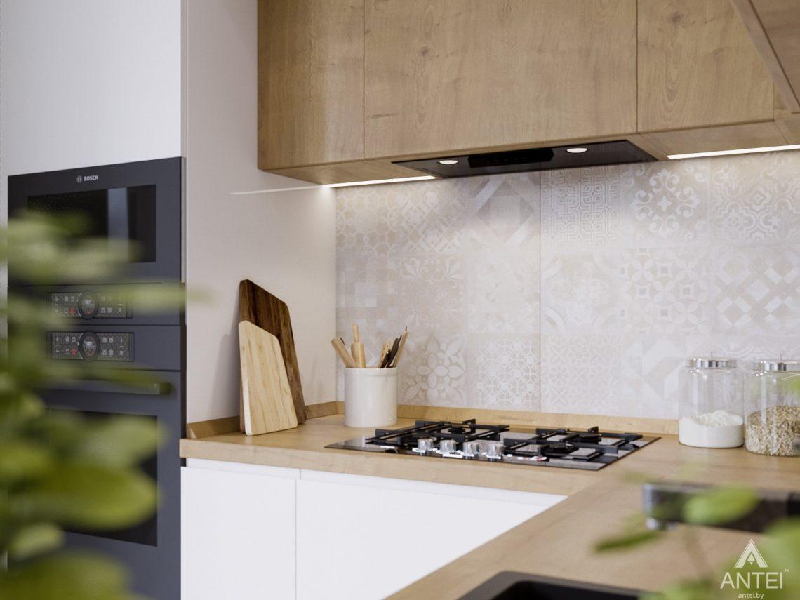 Дизайн интерьера однокомнатной квартиры в Гомеле, ул. Мазурова - кухня фото №3