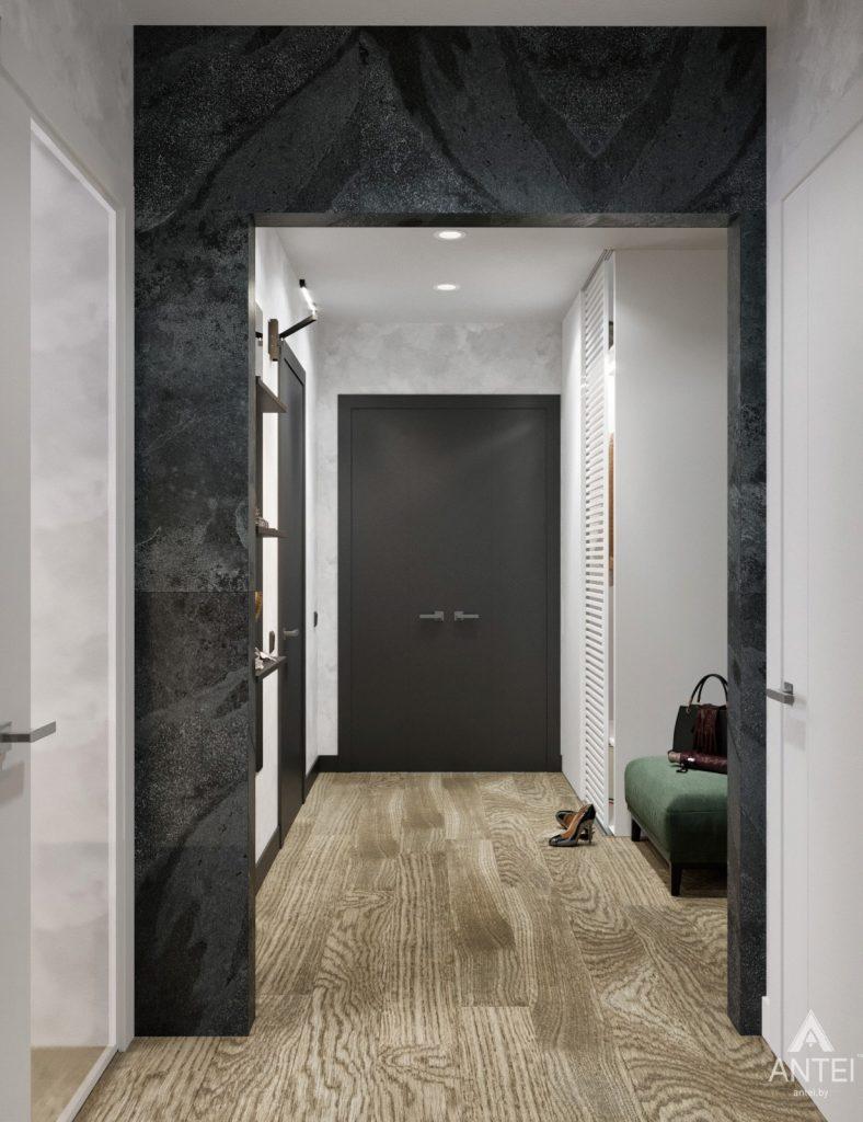 Дизайн интерьера двухкомнатная квартира в Речице - прихожая фото №3