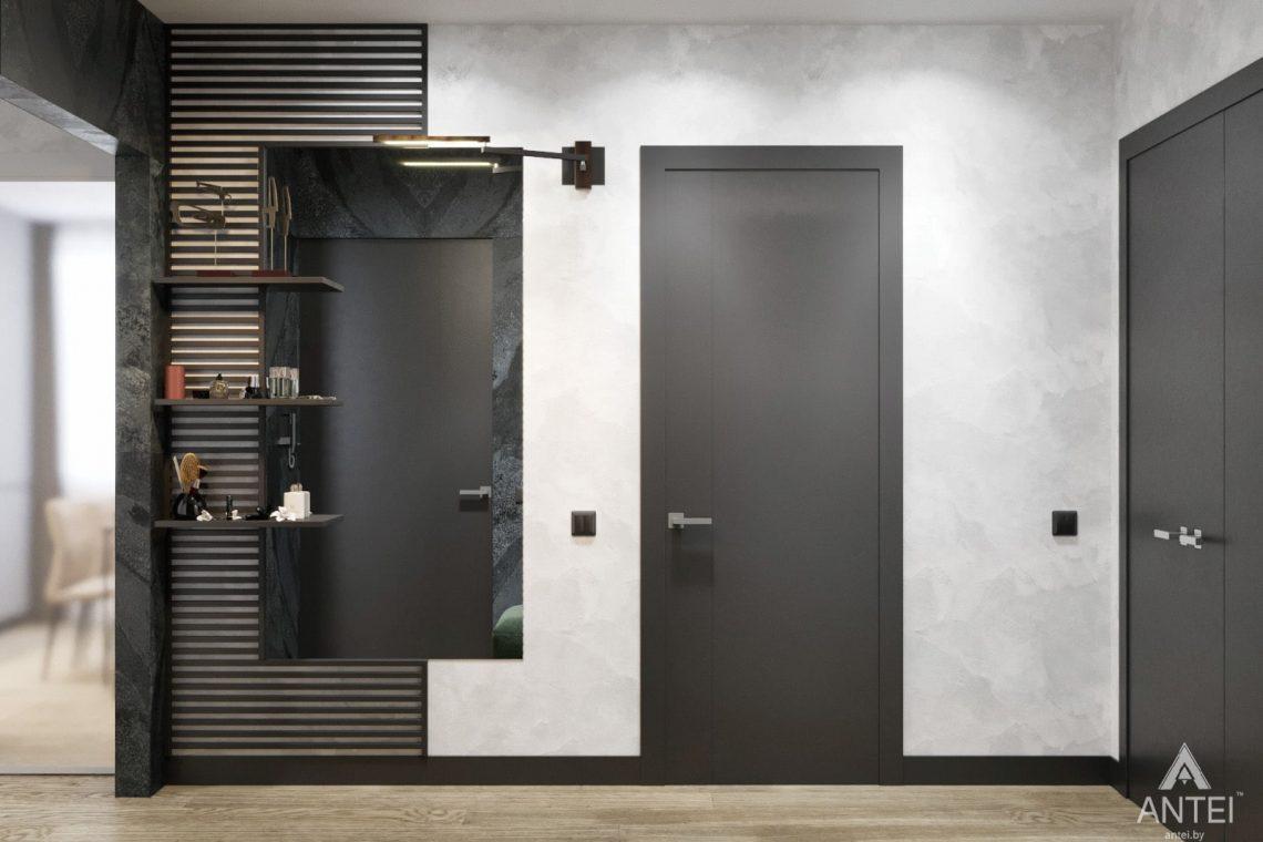 Дизайн интерьера двухкомнатная квартира в Речице - прихожая фото №4