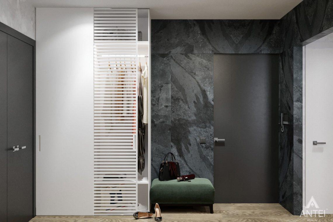 Дизайн интерьера двухкомнатная квартира в Речице - прихожая фото №5