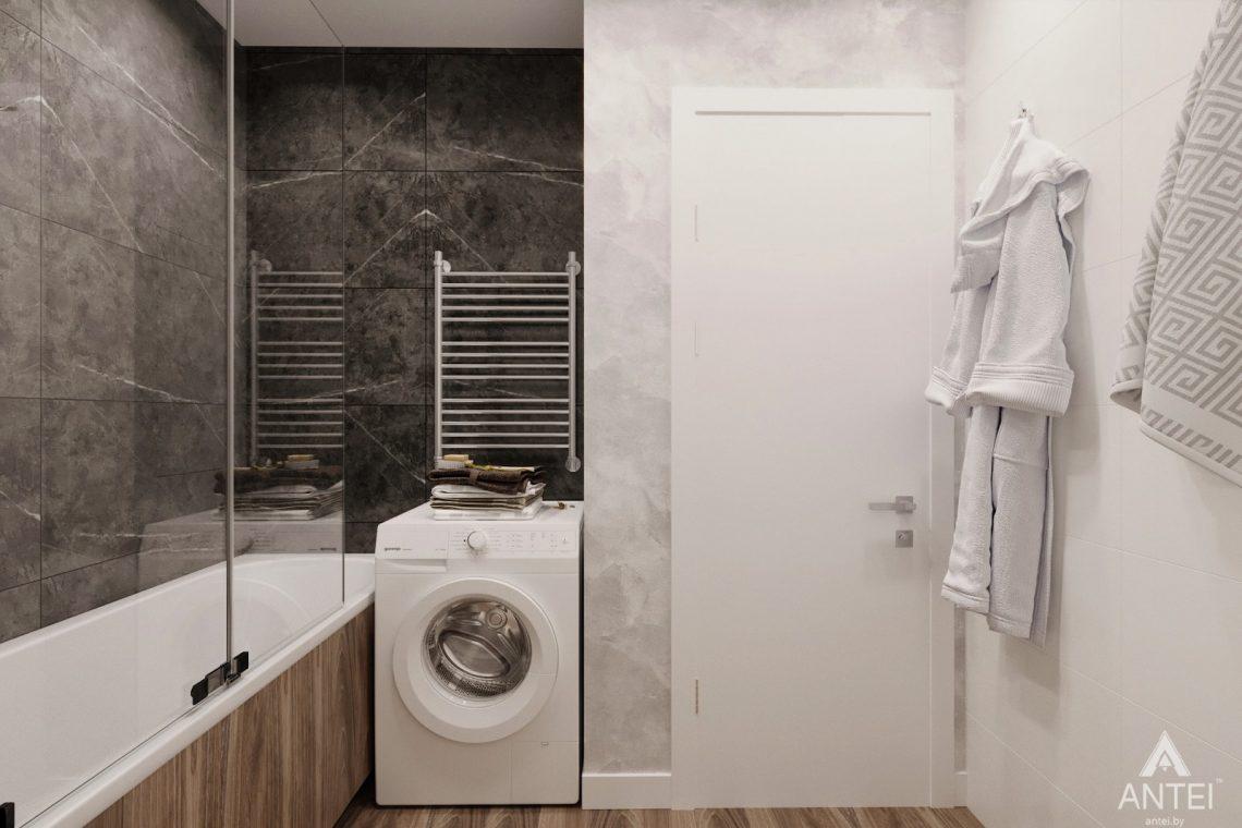 Дизайн интерьера двухкомнатная квартира в Речице - санузел фото №1