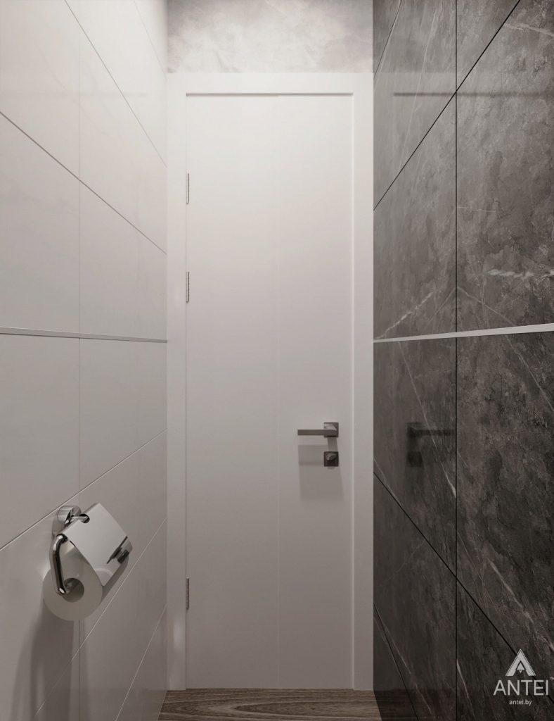 Дизайн интерьера двухкомнатная квартира в Речице - санузел фото №6