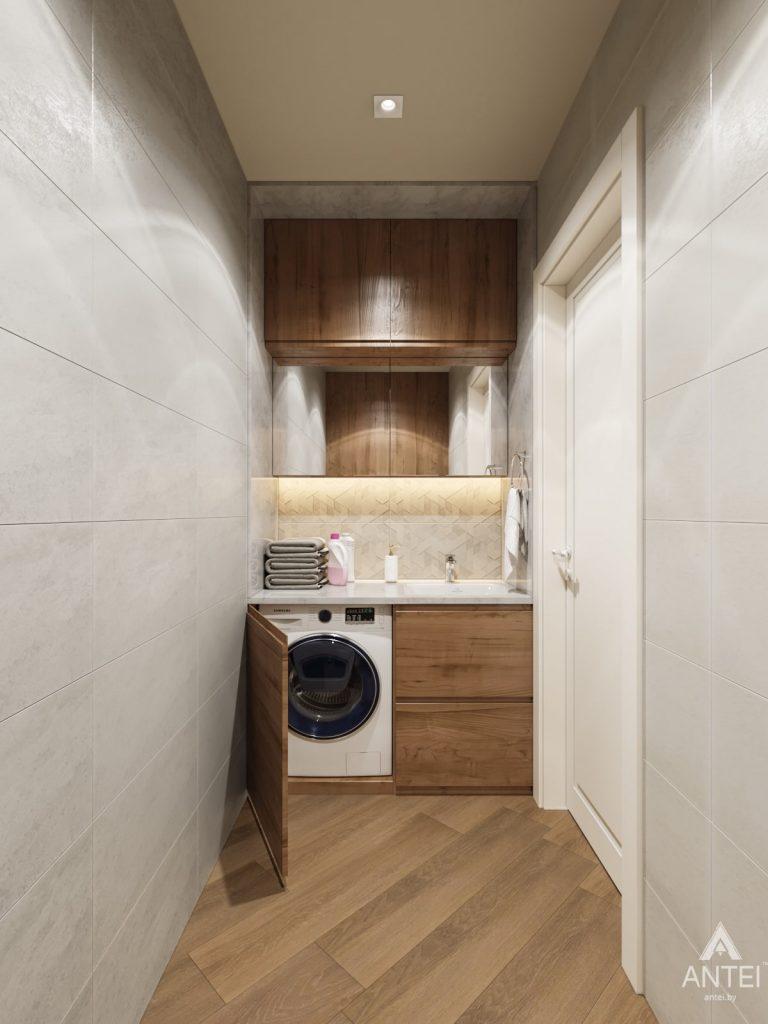Дизайн интерьера трехкомнатной квартиры в Гомеле, ул. Карла Маркса - туалет фото №2