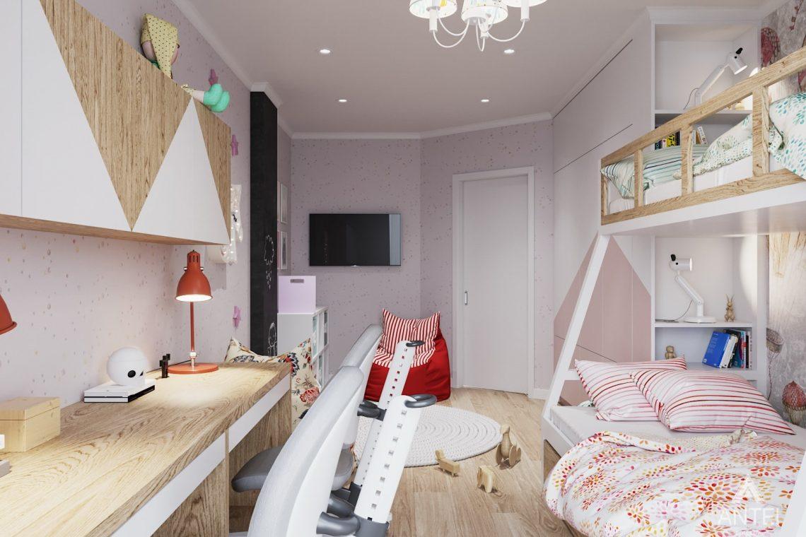 Дизайн интерьера трехкомнатной квартиры в Минске, ЖК Vogue - детская комната фото №2