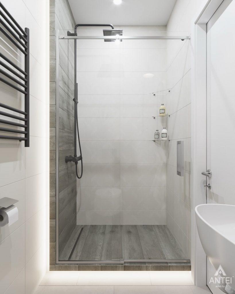 Дизайн интерьера трехкомнатной квартиры в Минске, ЖК Vogue - туалет фото №2