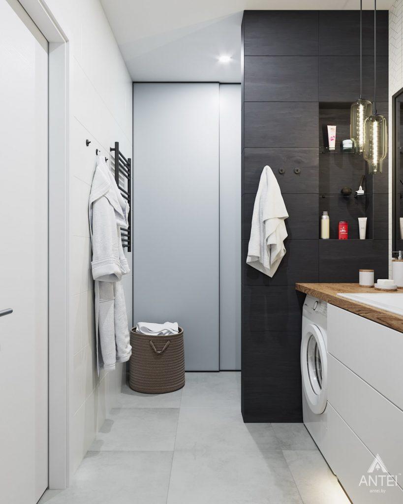 Дизайн интерьера трехкомнатной квартиры в Минске, ЖК Vogue - ванная фото №3