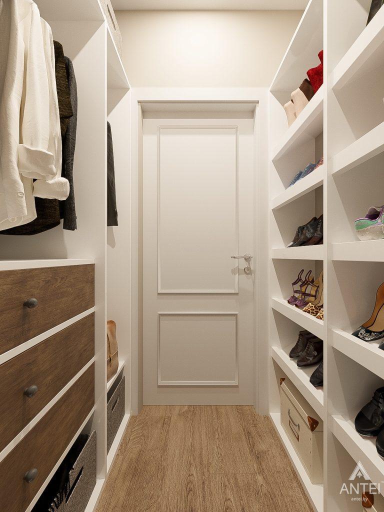 Дизайн интерьера двухкомнатной квартиры в Гомеле, ул. Волотовская - гардеробная фото №2
