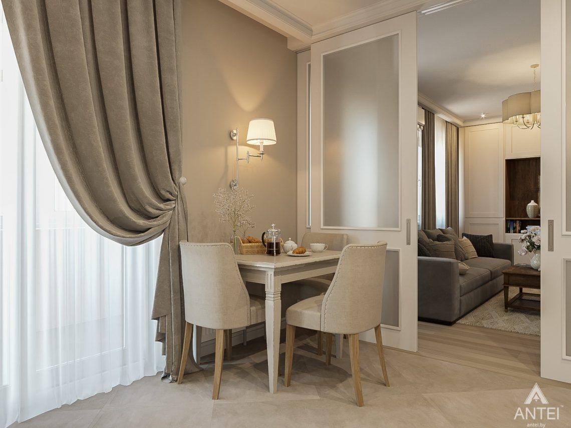 Дизайн интерьера двухкомнатной квартиры в Гомеле, ул. Волотовская - кухня фото №2
