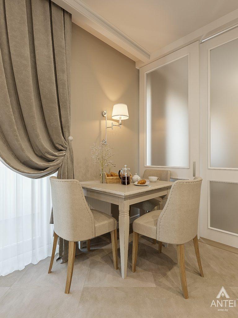 Дизайн интерьера двухкомнатной квартиры в Гомеле, ул. Волотовская - кухня фото №3